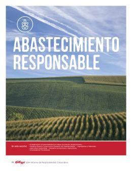 2014 Informe de Resposabilidad Corporativa En esta sección: 15