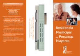 Residencia Municipal de Personas Mayores