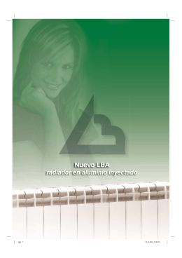 Catálogo Radiador de Aluminio NLBA