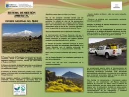 Para visitantes y usuarios del Parque Nacional