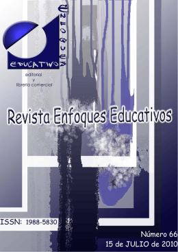 Revista Enfoques Educativos nº 66