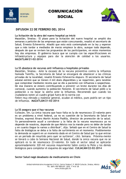 Instituciones y empresas buscan acabar con obesidad en Sinaloa