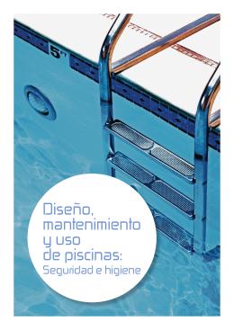 Diseño, mantenimiento y uso de piscinas: