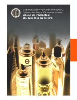 Abuso de inhalantes: ¡Su hijo está en peligro!