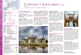 CAPITALES Y SANTUARIOS 12días