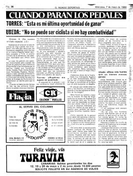 TURAVIA. . - Mundo Deportivo
