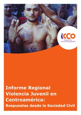 Violencia Juvenil en Centroamérica