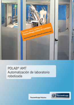 POLAB AMT, sp - 1626.indd - ThyssenKrupp Industrial Solutions