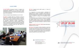 LEY Nº 20.348 - Evaluación Ciudadana de la Ley