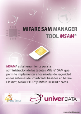 Folleto SAM Manager
