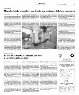 pagina 13. - La gaceta de la Universidad de Guadalajara