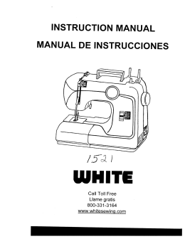 INSTRUCTION MANUAL MANUAL DE INSTRUCCIONES