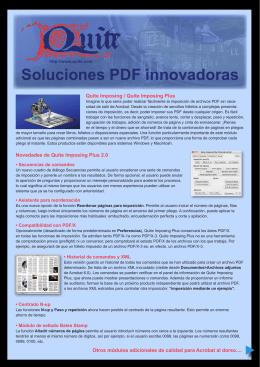 Soluciones PDF innovadoras