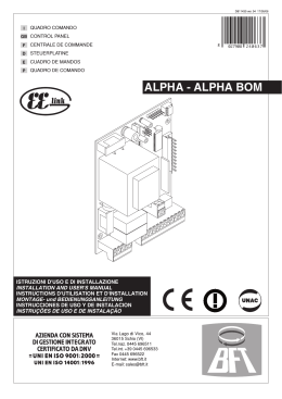 ALPHA - ALPHA BOM - Garajes Prefabricados SAS