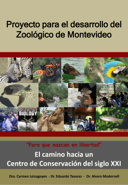 Proyecto para el desarrollo del Zoológico de Montevideo