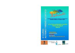 IV Curso Autismo y Medio Acuático