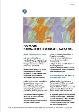 Documento sobre ISO 2600 (*)