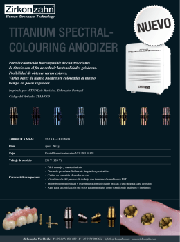 Flyer Titanium spectra-colouring Anodizer.indd