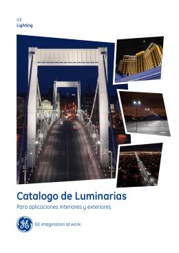 Catalogo de Luminarias