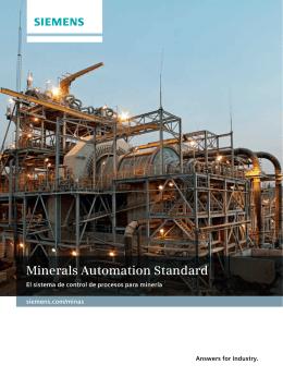 Minerals Automation Standard