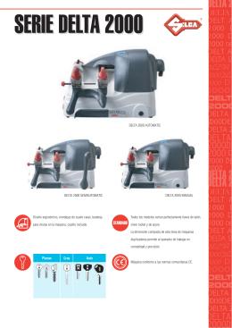 Delta 2000 - Silca - Máquinas duplicadoras de llaves y duplicación