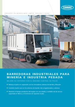 barredoras industriales para minería e industria pesada