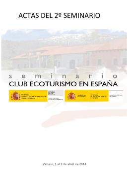Actas del II Seminario Club Ecoturismo en España