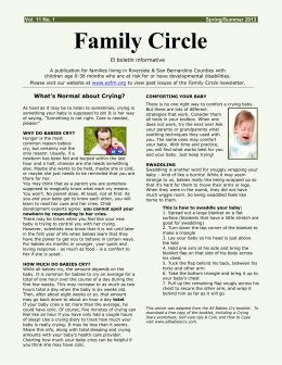Family Circle - Early Start Family Resource Network