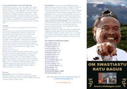 Nuevo folleto con información sobre el Shaking