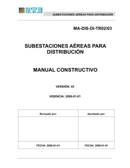 Manual Subestaciones Aéreas para Distribución-2008