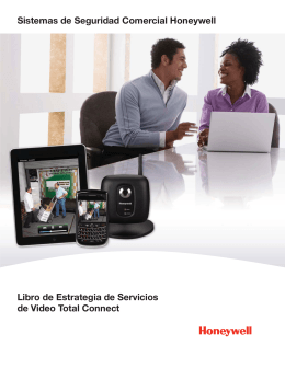 Libro de Estrategia de Servicios de Total Connect Video