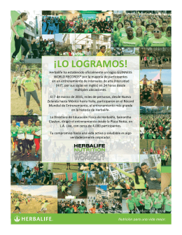 ¡LO LOGRAMOS! - Herbalife Events