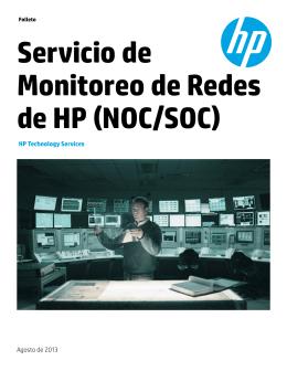Servicio de Monitoreo de Redes de HP (NOC/SOC)