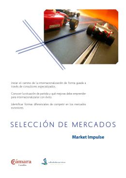 SELECCIÓN DE MERCADOS - Cámara de Comercio de Castellón