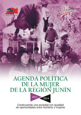 agenda política de la mujer de la región junín