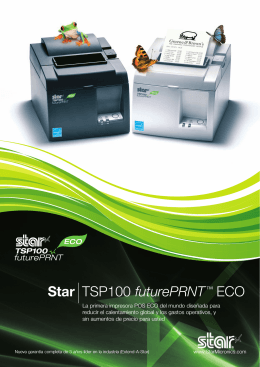ECO Brochure - Star Micronics