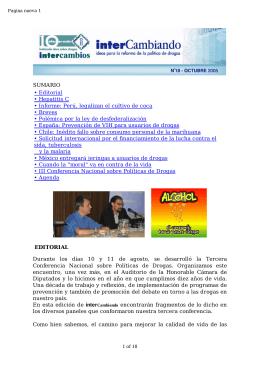 Perú, legalizan el cultivo de coca • Breves • Polémica por la ley de de