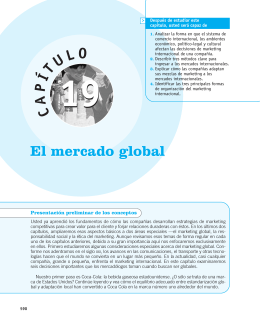 Marketing global en el siglo XXI
