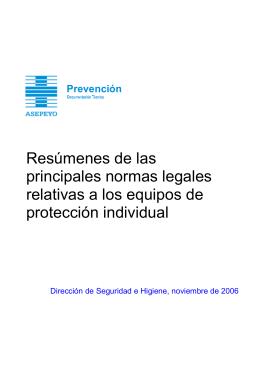 SGS0504022 Resúmenes legislativos EPI