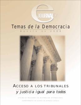 Temas de la Democracia