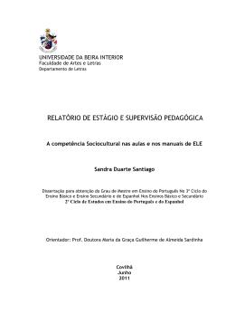 Dissertação Sandra Santiago