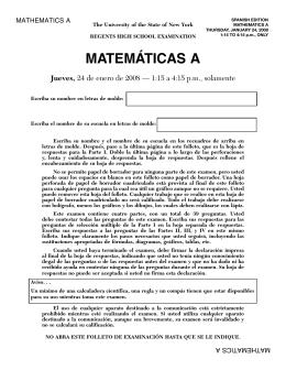 MATEMÁTICAS A