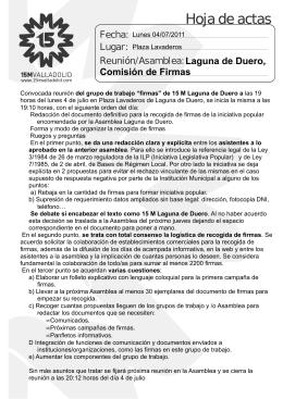 Comisión de Firmas 04-07-2011