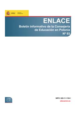 Enlace nº 93 - Ministerio de Educación, Cultura y Deporte