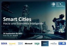 Programa Smart Cities - Ayuntamiento de Madrid