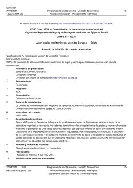 IEVA — Consolidación de la capacidad institucional del Organismo