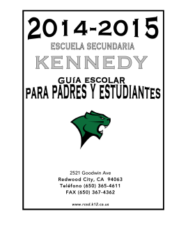 KMS.Parent Handbook.14-15 SPANISH FINAL