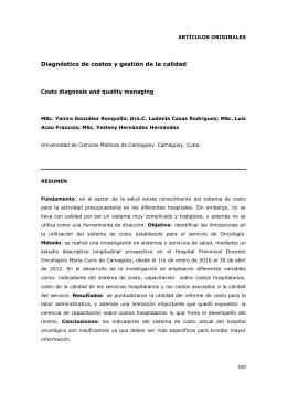 UNIVERSIDAD DE LAS CIENCIAS MÉDICAS