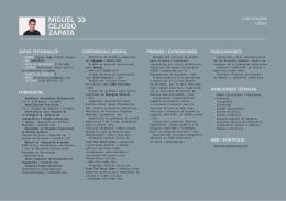 Currículum Vítae MCZ
