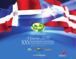 Memorias 2011 - Cooperativa de Servicios Múltiples la Telefónica
